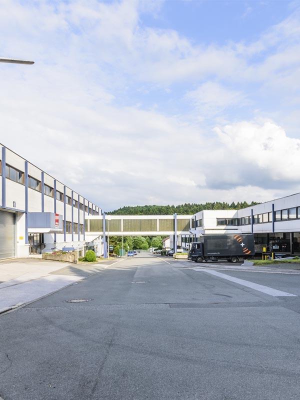 GEBA Gewerbepark <br>Aufsicht <br>in Ennepetal